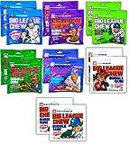 Big League Chew Bubble Gum Variety Pack 7 Flavors – Gum Packs for Softball Teams, Little League Teams, Baseball Teams and Baseball Fans (14 Pack)
