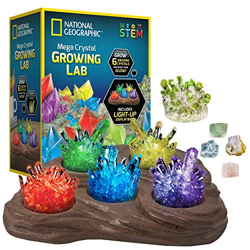NATIONAL GEOGRAPHIC Laboratorio de crecimiento de Mega Crystal
