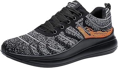 TWIFER Zapatillas de Gimnasia para Hombre Transpirables CasualGimnasio Correr Sneakers Zapatos de montañismo y Alpinismo Unisex Adulto Entrenamiento Comodas Antideslizante Moda Verano 2019