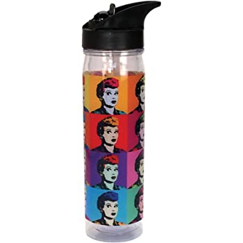 Multi Spoontiques Betty Boop Pop Art Water Bottle