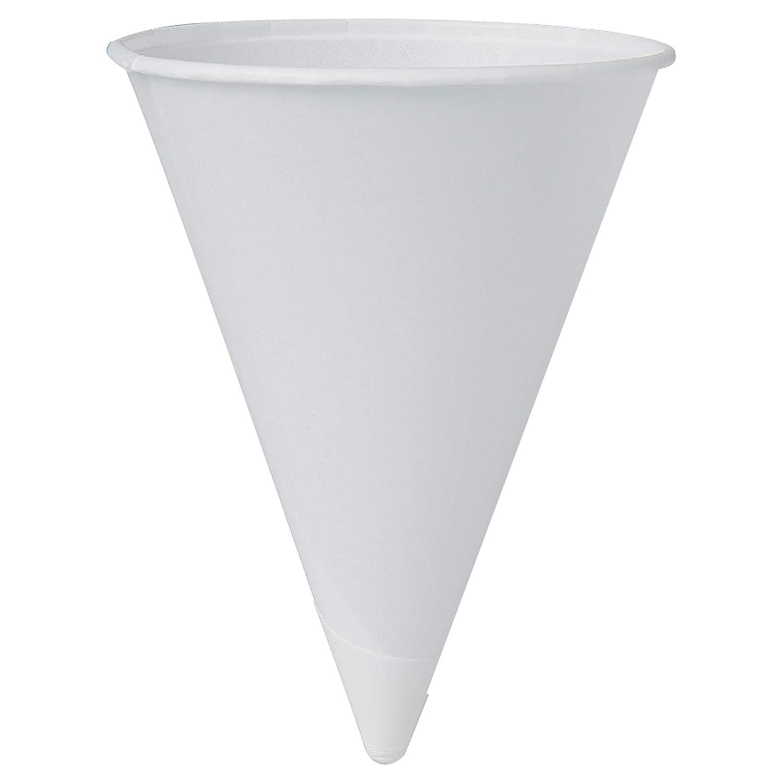 Albuquerque Mall Solo 42BR-2050 Phoenix Mall 4.25 oz White Paper Case Cone 5000 Cups of