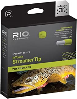 RIO Products Fly Line Intouch Sinktip Wf8F/S6 15' Type 6, Black/Yellow