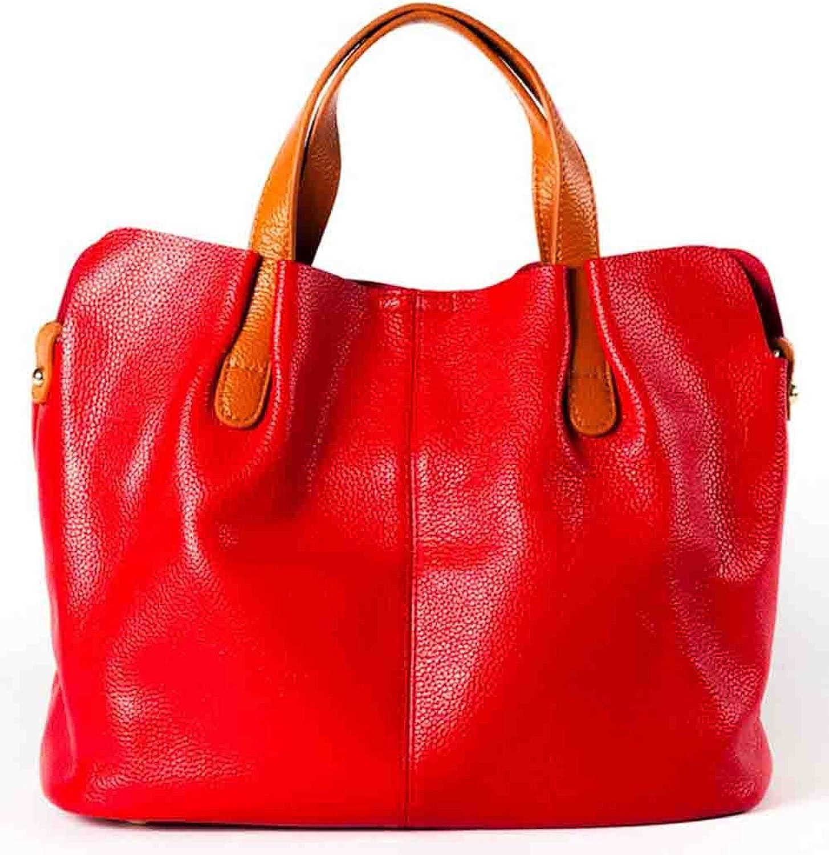 Joyloading Fashionable Luxury Lady Genuine Leather Top Handle Handbags