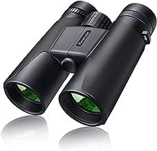 10x42 Binoculars for Adults Easy Focus, Panamalar Compact Waterproof Binoculars with 10x Zoom BAK4 Prism FMC Lens, HD Binoculars Lightweight Fogproof for Bird Watching, Theater Opera, Hunting, Sports