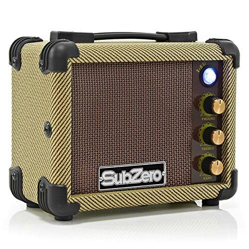 Micro Amplificador de Ukelele SubZero por Gear4music Tweed