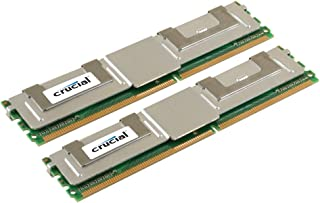 Crucial Technology CT2CP102472AF667 (8 GBx2) 240-pin DIMM DDR2 PC2-5300 CL=5 Fully Buffered ECC DDR2-667 1.8V 1024Meg x 72...