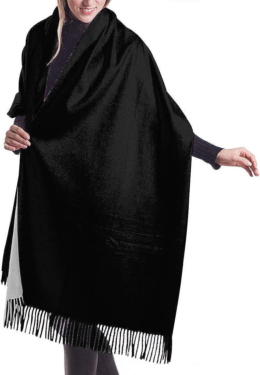 Winter Scarf - Unisex (Men/Women) - Long scarf - Perfect for Birthday Gift - Cartoon Cat Black