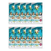 Euro 2020 Panini Adrenalyn カード - 10パックセット (カード8枚入り) (合計80枚)