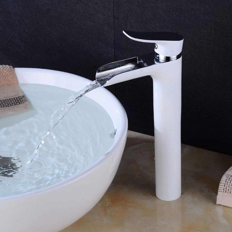 GONGFF Wasserhahn alle Kupferfarbe Wasserfall Becken Wasserhahn Kupfer Becken Wasserhahn Qualittssicherung