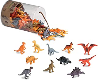 Terra by Battat – Dinosaurs – Assorted Miniature Dinosaur Toy Figures For Kids 3+ (60 Pc), 2""