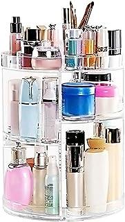 Makeup Organizer 360 Degree Rotating Large Capacity Cosmetic Storage Box 7 Layers Adjustable...