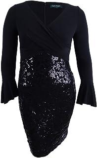3e5e0df5a LAUREN RALPH LAUREN Womens Adela Sequined Mini Cocktail Dress