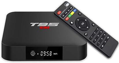 YAGALA T95 S1 Android 7.1 TV Box 1GB RAM 8GB ROM Amlogic S905W Quad core cortex-A53 Processor 2.4Ghz WiFi H.265 HDMI 2.0 S...
