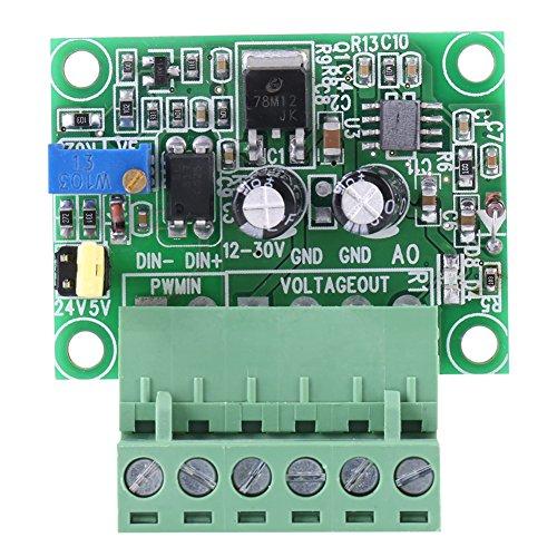 Digitales Konverter-Modul, 1-3 kHZ 0-10 V PWM Signal zu Spannungswandler Modul Digital Analog Board