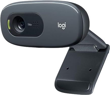Logitech C270 Webcam HD per Videochiamate Widescreen con Microfono con Riduzione del Rumore e Correzione Automatica della Luminosità, Nero - Trova i prezzi più bassi