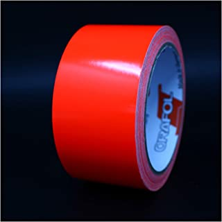 50 m neonfolie 6510 band 50 mx5,5 cm sierstrepen plakfolie knutselfolie voor modelbouw, doe-het-zelf zelfklevende folie ei...
