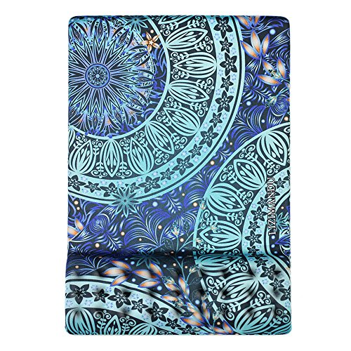Cheliz Memory Foam Non Slip Mouse Pad Wrist Rest - Durable & Comfortable & Lightweight for Easy Typing & Pain Relief-Ergonomic Support(Green Flower)