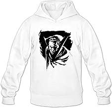 ONE 1 Men's Dracula Vampire Film Sketch Cool Hoodies Pullover