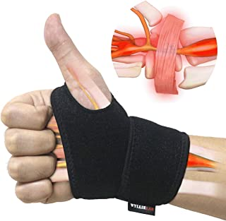 Wrist Brace for Carpal Tunnel, Comfortable and Adjustable Wrist Support Brace for..