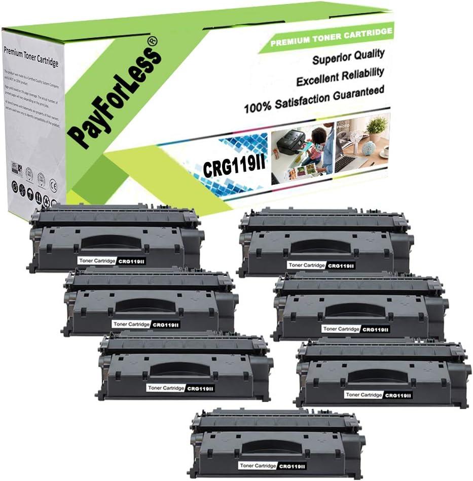 PayForLess Toner Cartridge 119 Black Discount is also underway Compat II 7PK Daily bargain sale