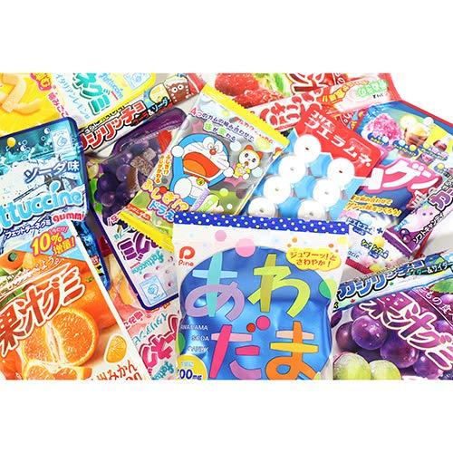 グミ・キャンディ・ラムネ詰め合わせセット(8種・計47コ)おかしのマーチ