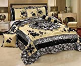 Tache Home Fashion BM-4358L-CK Comforter Set, Silver