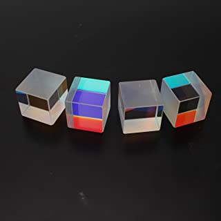 HITSAN INCORPORATION Defective Colorful Combiner Splitter Cross Dichroic Cube Optical Glass Prism RGB Prism