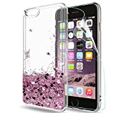LeYi Funda iPhone 6 / 6S Plus Silicona Purpurina Carcasa con HD...