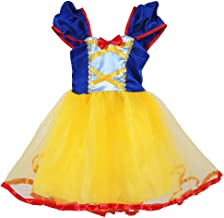 Tutu Dreams Princess(Cinderella,Rapunzel,Aurora,Snowwhite) Costume for Girls Birthday Halloween Party