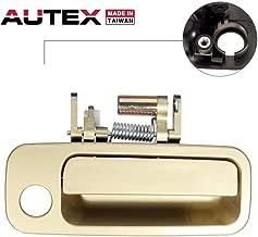 AUTEX Door Handle Gold Exterior Front Right Side Passenger Side (RH) Replacement Compatible with Toyota Camry 1997 1998 1999 2000 2001 Door Handle (Built in Japan) 79427 TO1521122 69230AA010C0