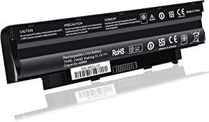 J1KND 11.1V 48wh Standard Rechargeable Li-ion Laptop Battery Replacement, for Dell Inspiron N7010 N7110 Battery, Inspiron N5110 N5010 N5050 Battery,Inspiron N4010 N4110 Battery,TKV2V Vostro 3550