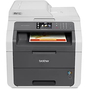 Brother MFC9130CW Wireless All-In-One Printer with Scanner, Copier and Fax, Amazon Dash Replenishment Ready