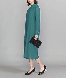 [ビューティ&ユース] BY DRESS シアースタンドカラーロングスリーブドレス 16261623855 レディース