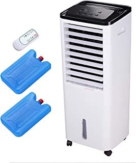 Yescom 200W Evaporative Air Cooler Fan Humidifier 1647CFM Portable with Ice Boxes Remote Control Indoor Home Office