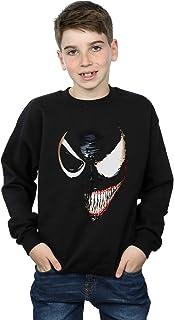Marvel Universe Niños Venom Split Face Camisa De Entrenamiento