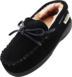 NORTY 幼儿/小童/大孩子真皮牛皮麂皮软帮鞋