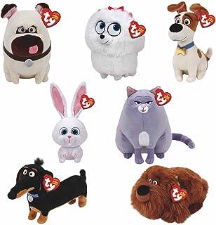 TY Beanie Babies Plush - Secret Life of Pets Movie Soft Toys (Complete set  of cc665fec3468