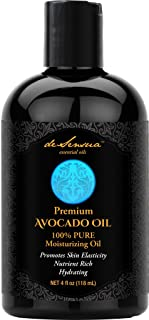 Avocado Oil - 100% Pure- Best For Massage, Moisturizing Skin and Hair, Carrier Oil For Essential Oils, 4 oz