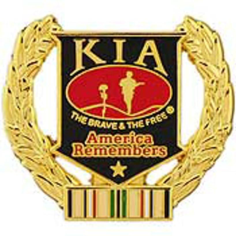 EagleEmblems P12217 Pin-Kia,Honor Wreath Desert Storm (1.125'')