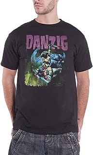 Danzig T Shirt Warrior Band Logo 新しい 公式 メンズ Size XL