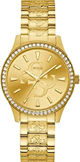 Guess watches ladies anna Womens Analog Quartz Watch with Stainless Steel bracelet W1280L2