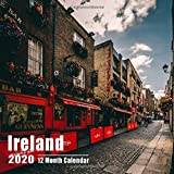Mini Calendar 2020 7x7 Ireland: High Quality Photos Small Calendar With Inspirational Quotes each Month