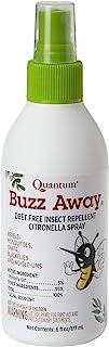 Quantum Buzz Away - Natural DEET-free Insect Repellent, Citronella Essential Oil Bug Spray, Original Formula - Small Child...