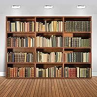新しい図書館の棚魔法の本の写真の背景子供のための屋内研究室の本棚の背景学生の肖像画バナー2.1x1.5m