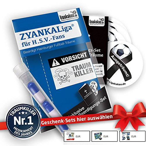 Hamburg Home Trikot ist jetzt ZYANKALIGA für HSV Fans by Ligakakao.de Puma Herren Home Shirt Replica mit Logo blau-weiß