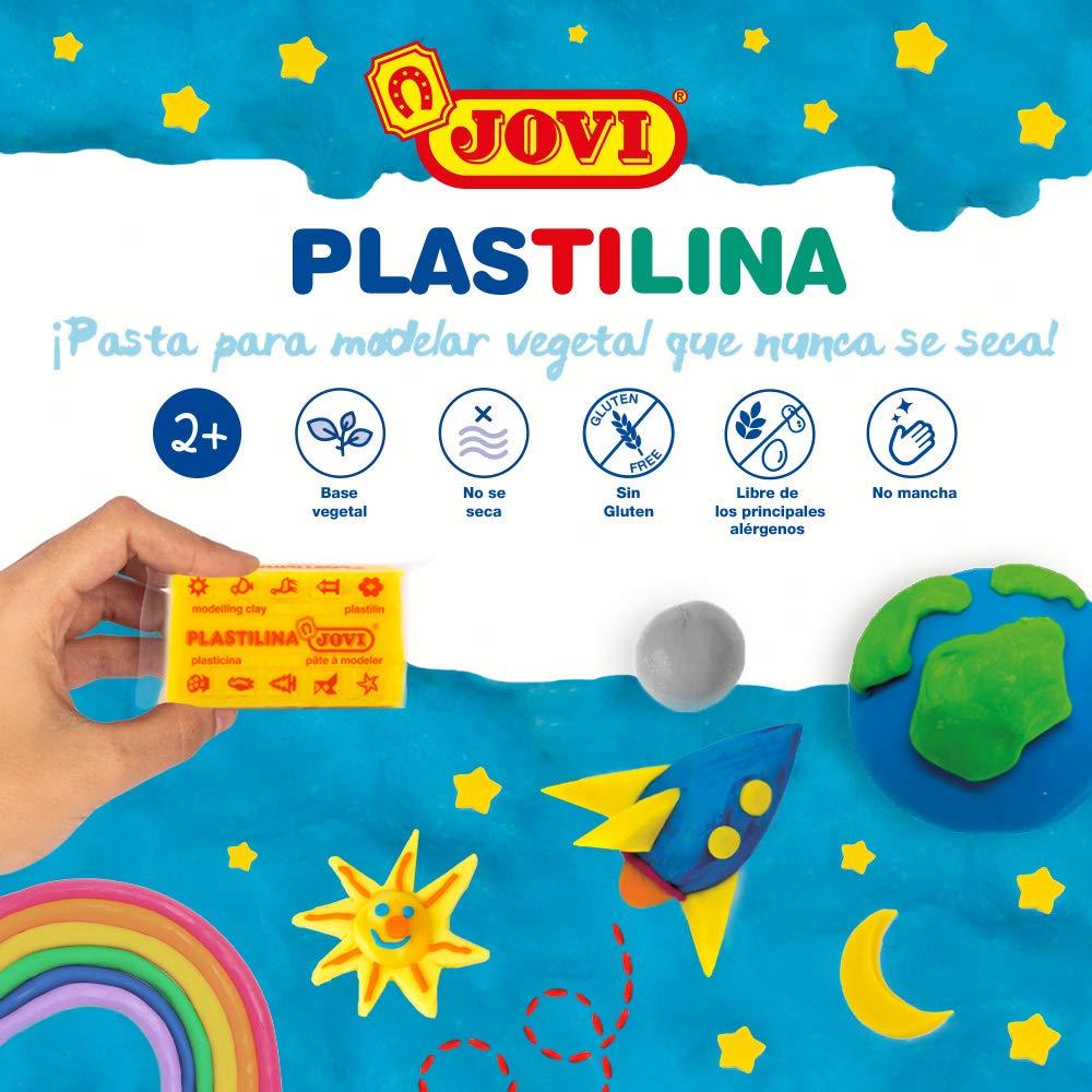 Jovi Caja de plastilina, 30 Pastillas 50 g, Color Carne (7008), 350 gramos: Amazon.es: Juguetes y juegos