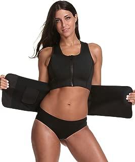 GIRL MELODY Neoprene Sauna Suit - Adjustable Waist Trainer Shaper Sauna Waist Trimmer Vest