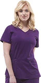 Purple Label Yoga Juliet 2245 V-Neck Scrub Top