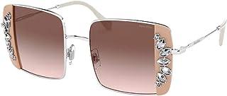 Sunglasses Miu MU 56 VS 02E01C Silver/Pink