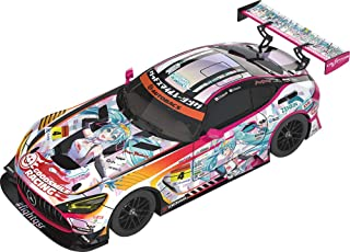 初音ミク GTプロジェクト 1/43 グッドスマイル 初音ミク AMG 2021 SUPER GT参戦100戦記念 Ver. 1/43スケール レジン製 塗装済み完成品ミニカー